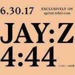 Teaser Jay Z 4.44 album 2017