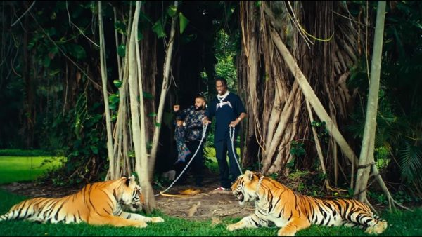 Videoclip DJ Khaled Travis Scott Rick Ross Big Sean On Everything