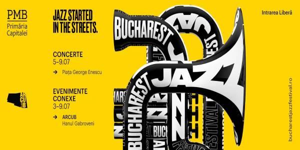 Bucharest Jazz Festival 2017 la Piața George Enescu