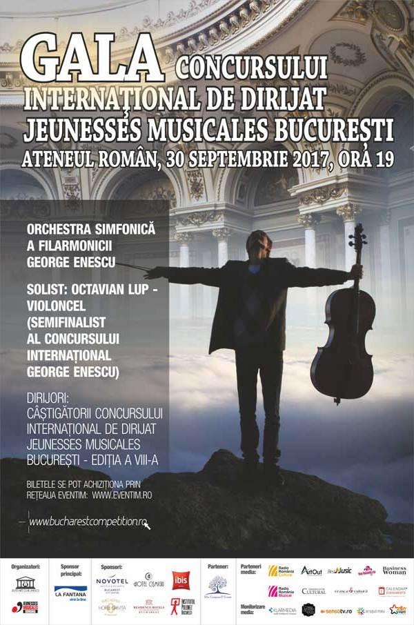 Gala Concursului de Dirijat Jaunesses Musicales la Ateneul Român
