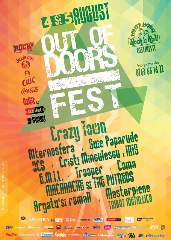 Out Of Doors Fest 2017 la Terasa White Horse Costinești