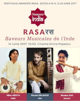 RASA - Saveurs Musicales de l'Inde la Cinema Elvire Popesco