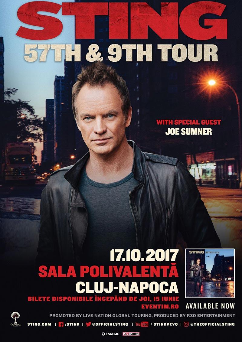 Sting la BT Arena (Sala Polivalentă) Cluj-Napoca