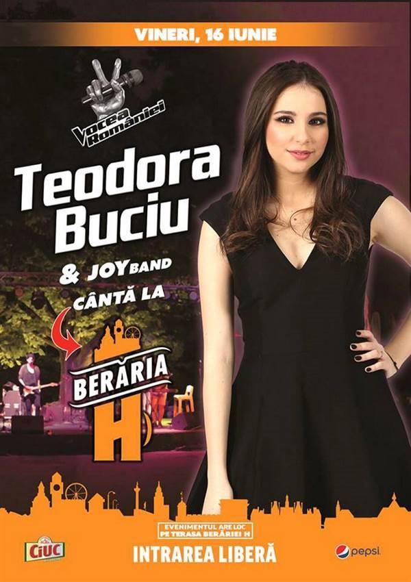 Teodora Buciu la Berăria H