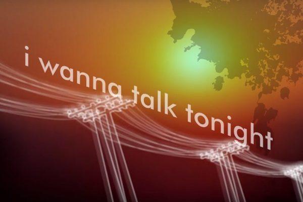 Oasis - Talk Tonight (Lyric Video)