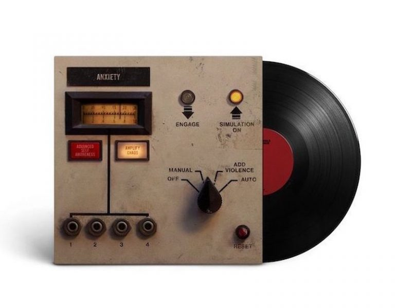 Coperta EP Nine Inch Nails Add Violence