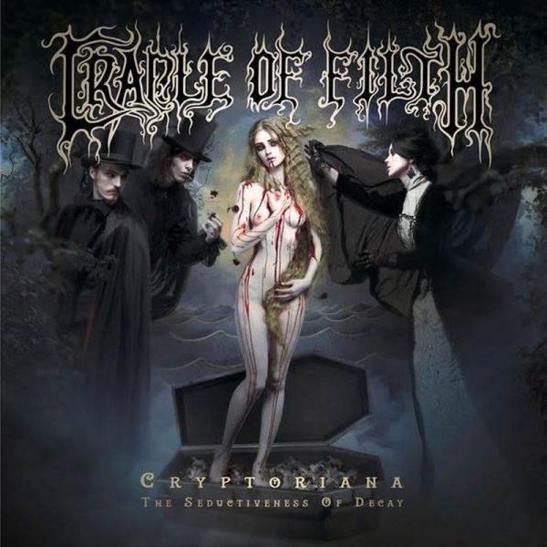 Cradle of Filth Coperta Cryptoriana The Seductiveness of Decay