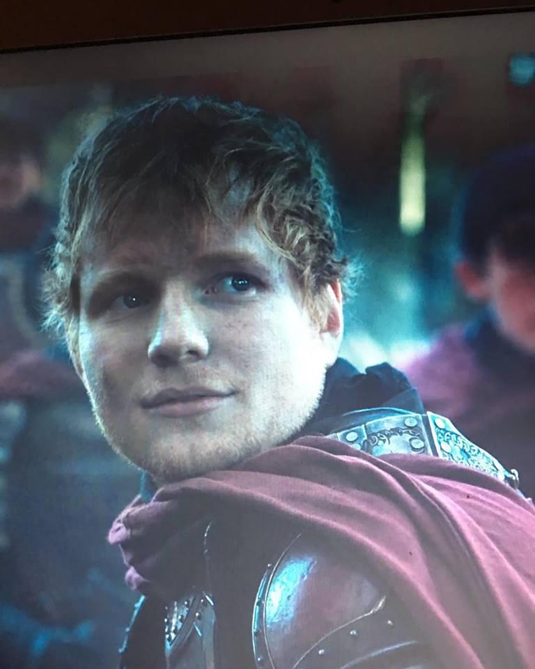 Ed Sheeran Game of Thrones aparitie