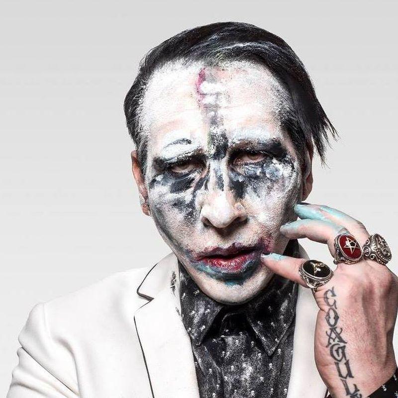 Marilyn Manson portret mai 2017