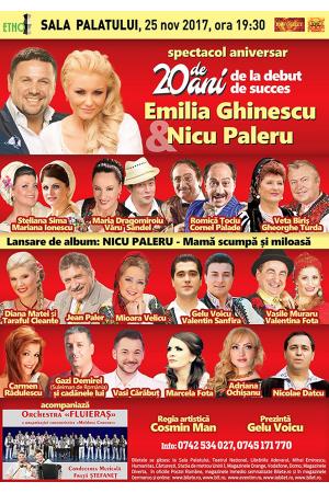 Emilia Ghinescu & Nicu Paleru - Concert aniversar la Sala Palatului