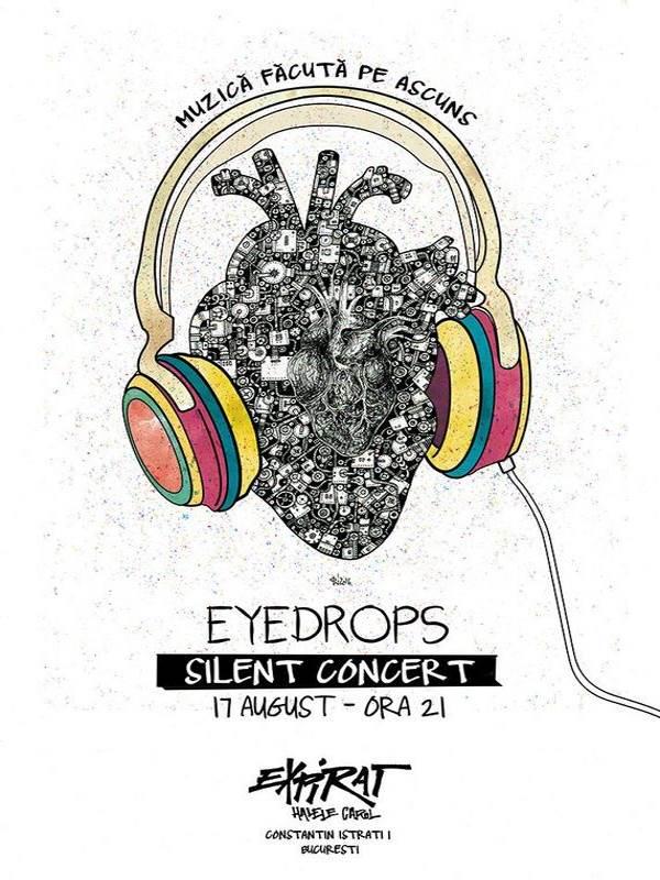 Eyedrops - silent concert la Expirat Club
