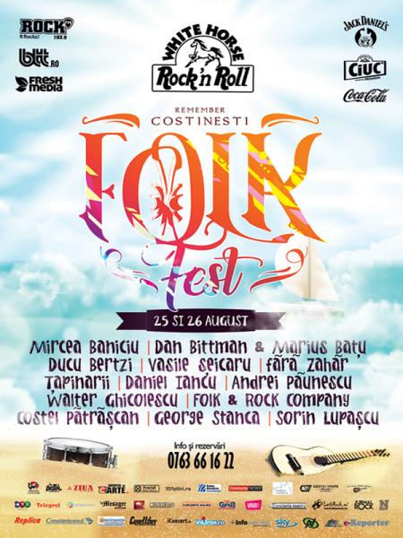 Poster eveniment FolkFest Remember Costinești