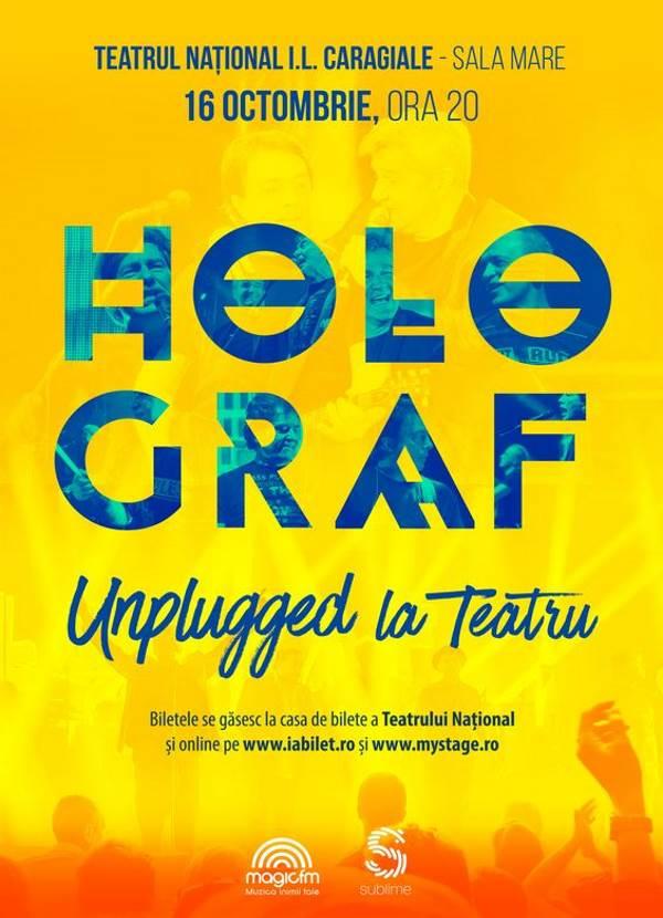 Holograf - Unplugged la Teatrul Naţional București