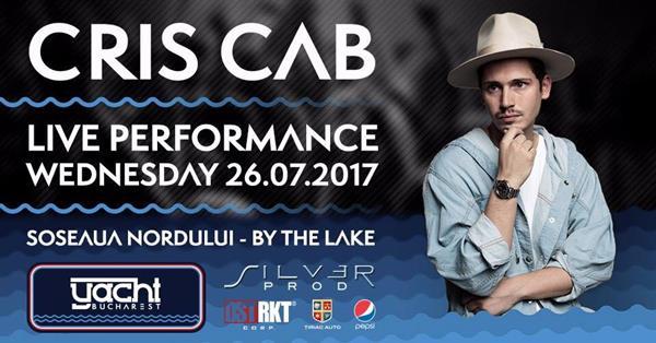 CrisCab la Yacht Bucharest