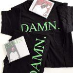 Tricou oficial și CD Kendrick Lamar - DAMN.