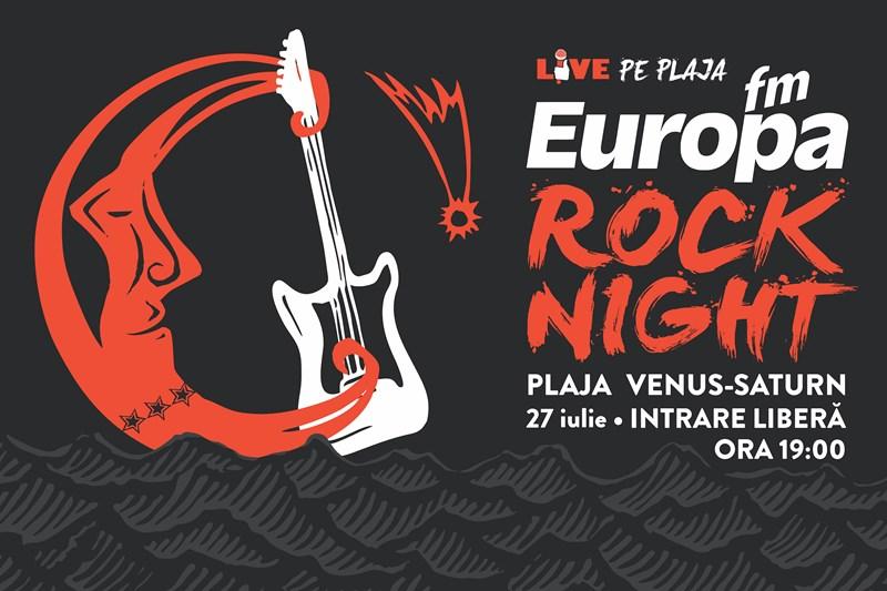 Seara rock la Europa Fm Live pe Plajă 2017