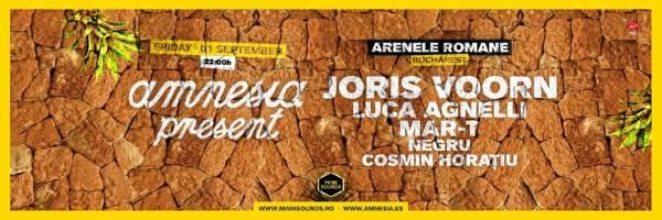 Amnesia Presents 2017 la Arenele Romane