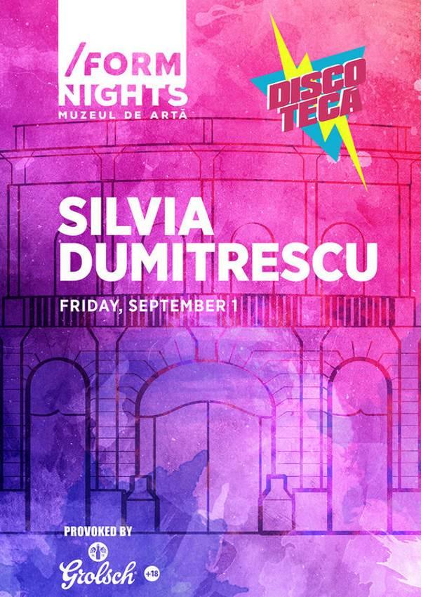 Discotecă feat. Silvia Dumitrescu la Muzeul de Artă (Cluj-Napoca)