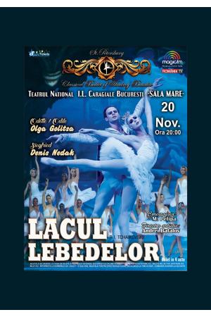 Lacul Lebedelor - Balet Clasic la Teatrul Naţional București