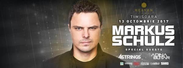 Markus Schulz la Club Heaven (Timișoara)