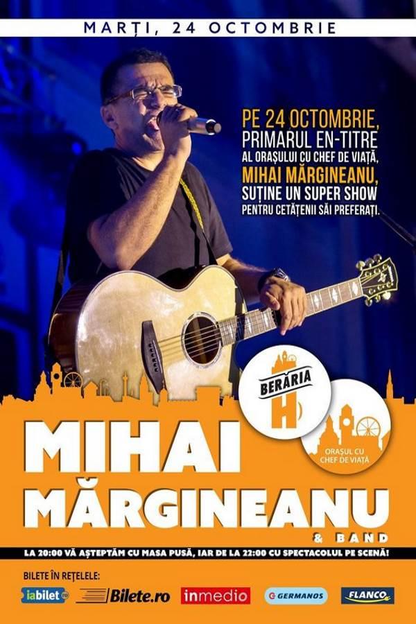 Mihai Mărgineanu la Berăria H