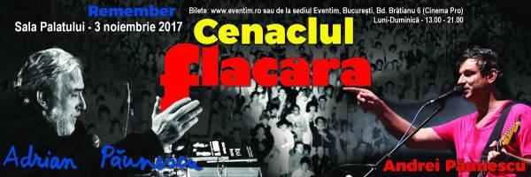 Remember Cenaclul Flacăra la Sala Palatului