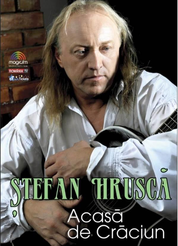 Ștefan Hrușcă - Acasă de Crăciun la Sala Patria Brașov