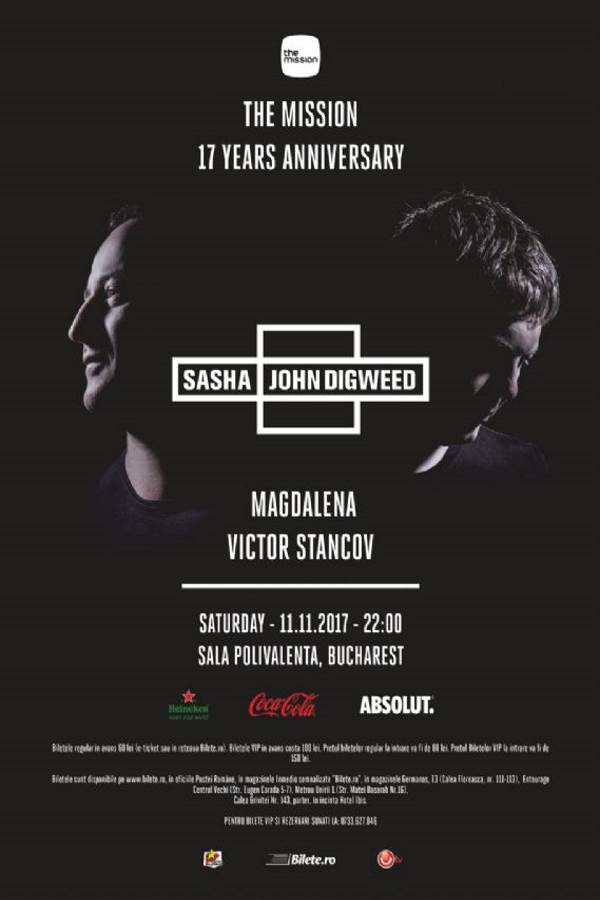 The Mission 17 Years Anniversary la Sala Polivalentă