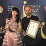 """DJ Sava și Irina Rimes la """"Astana Dausy Music Awards"""""""