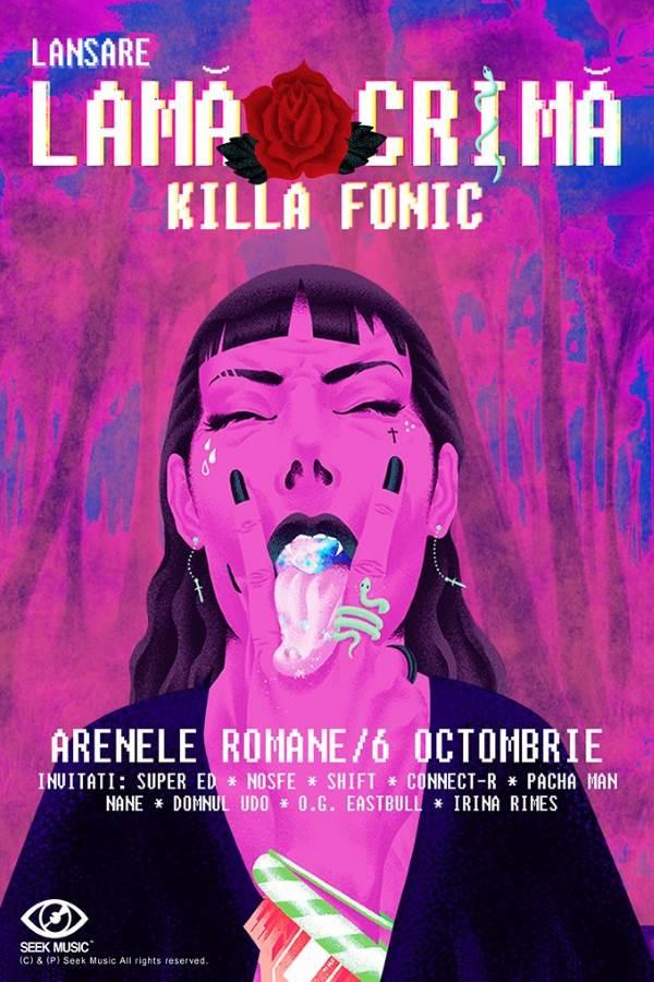 Killa Fonic - lansare album la Arenele Romane