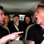 Metallica la Carpool Karaoke