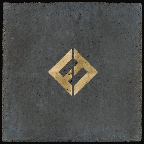 Coperta album Foo Fighters Concrete and Gold