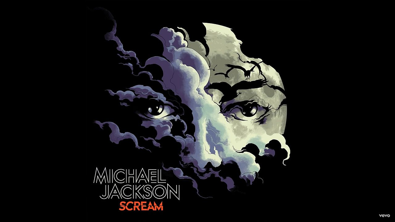 Coperta album Michael Jackson SCREAM