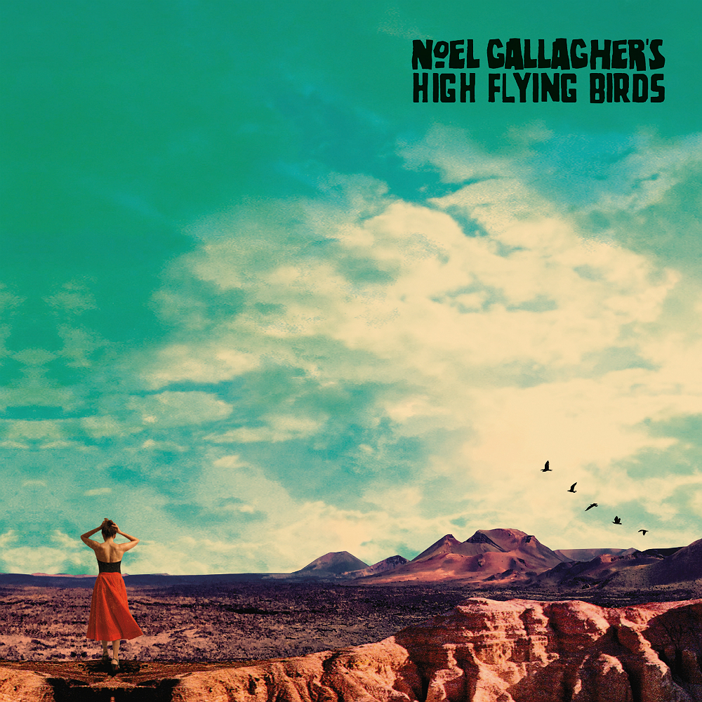 Coperta album Noel Gallagher High Flying Birds Who Built The Moon