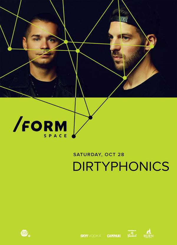 Dirtyphonics la Form Space Club