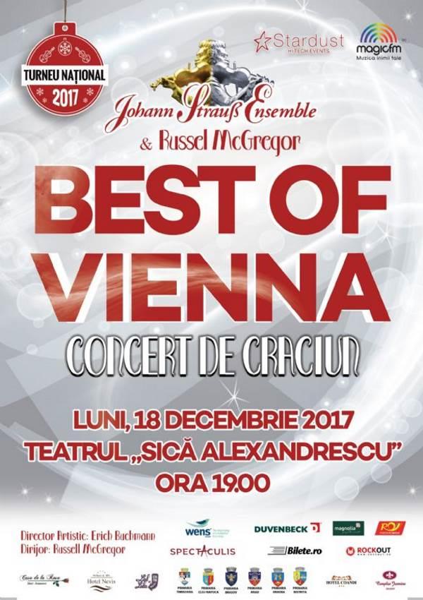 """Johann Strauss Ensemble - Best of Vienna la Teatrul """"Sică Alexandrescu"""" Brașov"""