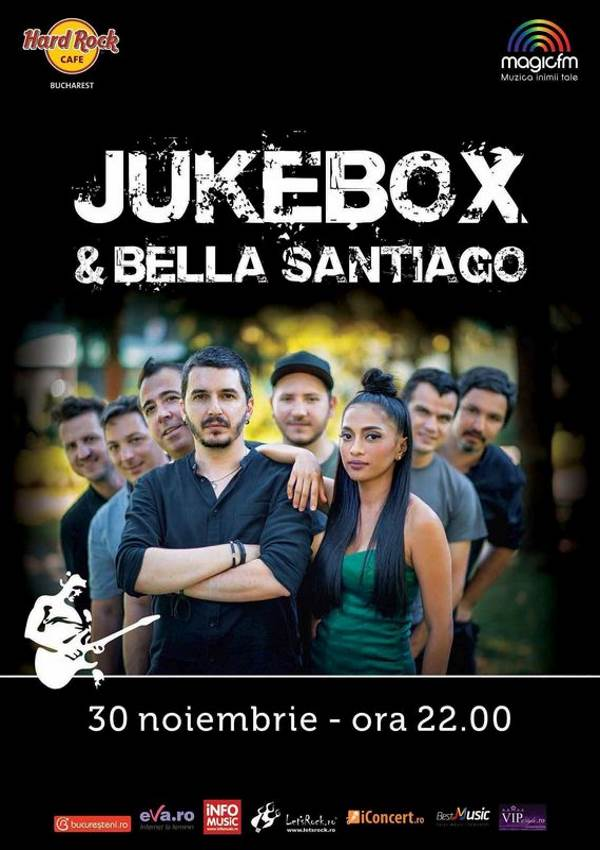 Jukebox & Bella Santiago la Hard Rock Cafe