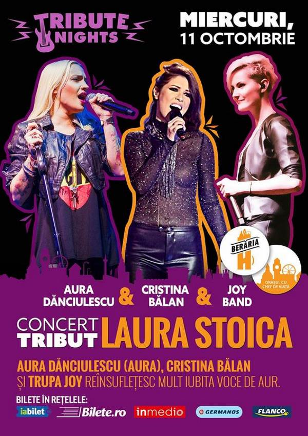 Laura Stoica - concert tribut la Berăria H
