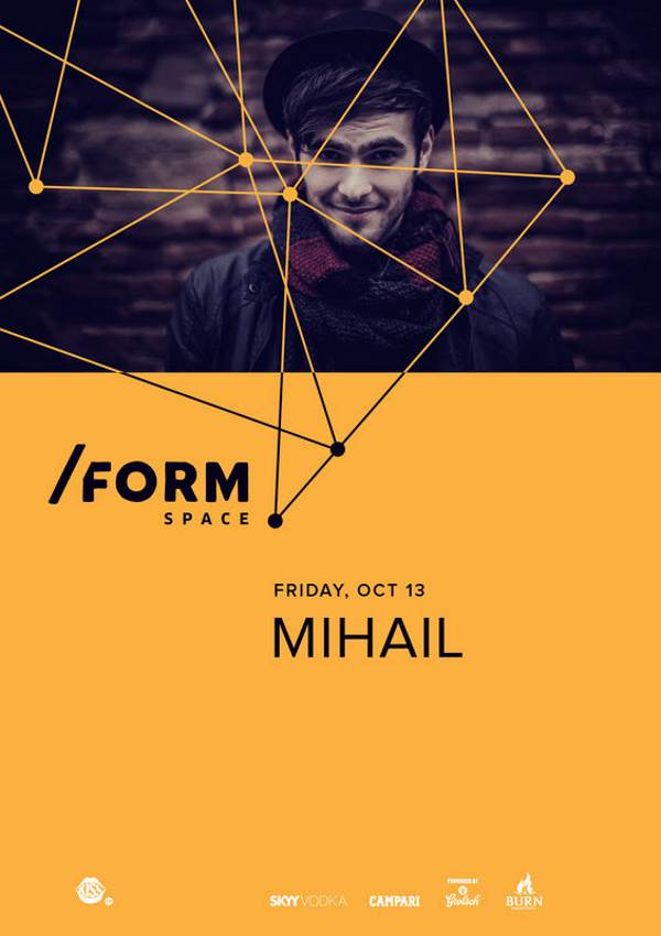 Mihail la Form Space Club