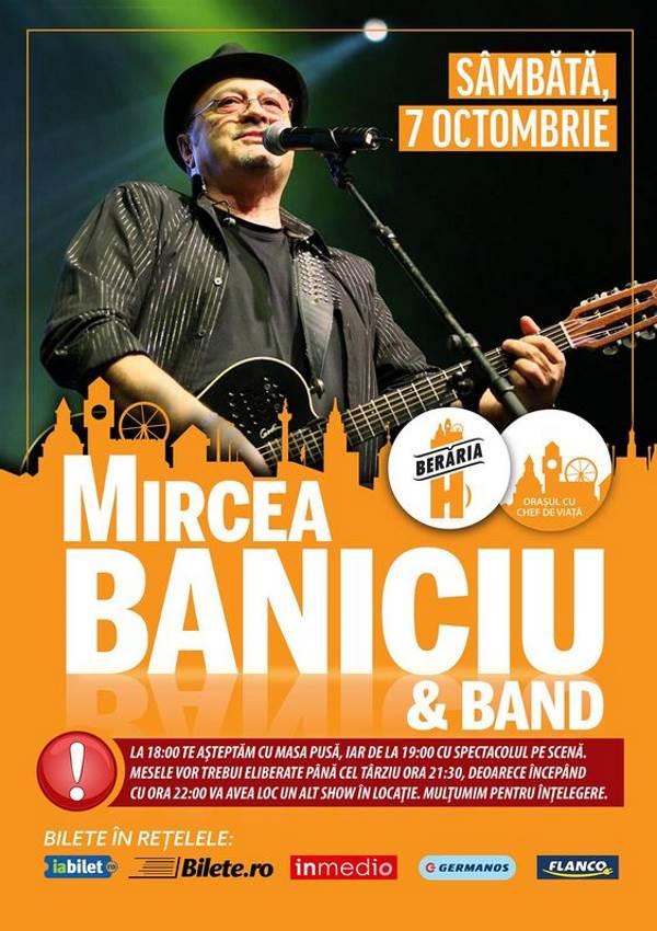 Mircea Baniciu la Berăria H