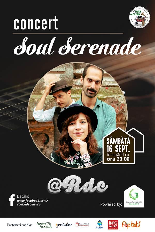 Roaba de Cultură - Concert Soul Serenade la Parcul Herăstrău