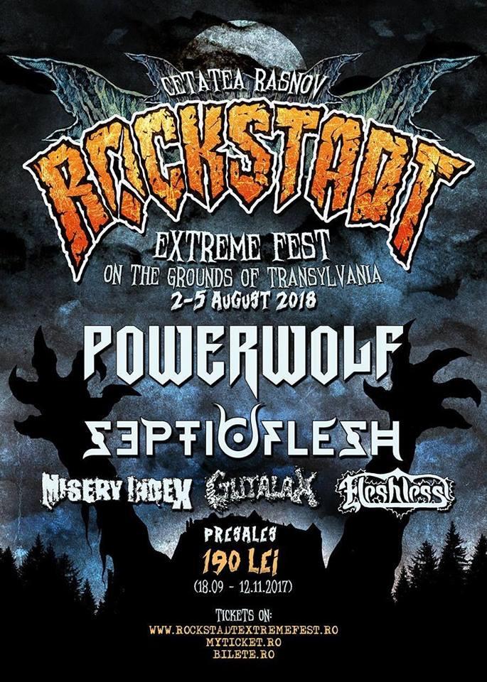 Rockstadt Extreme Fest 2018 la Cetatea Râșnov
