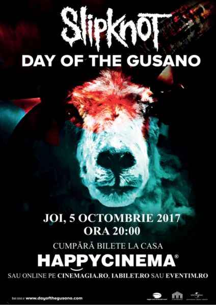 Poster eveniment Slipknot - Day Of The Gusano