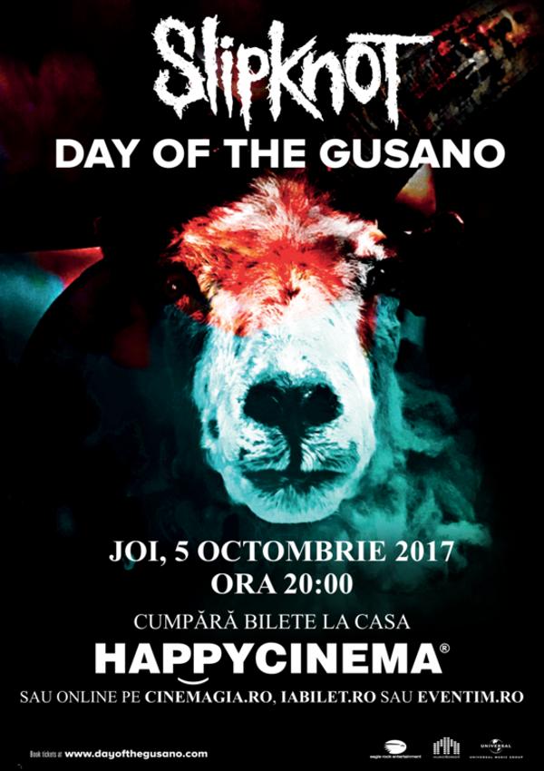 Slipknot - Day Of The Gusano la Happy Cinema