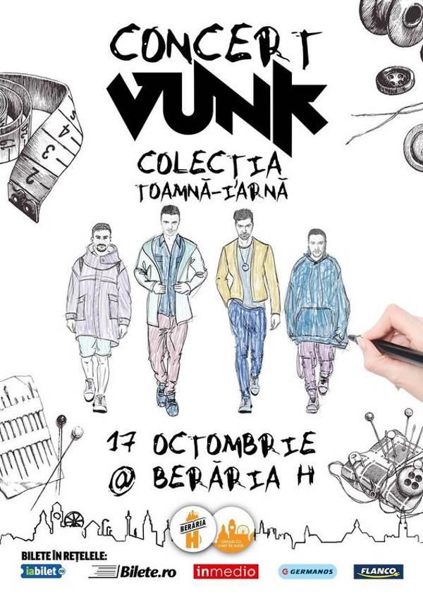 VUNK - Colecția Toamnă-Iarnă la Berăria H