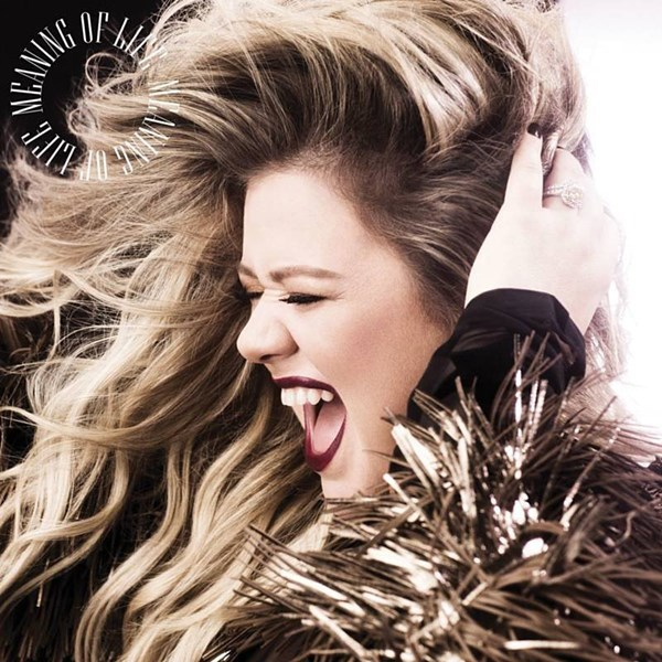 "Kelly Clarkson - ""The Meaning Of Life"" (copertă album)"