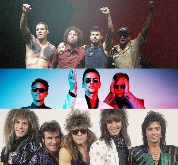 Nominalizati Rock and Roll Hall of Fame 2018 Depeche Mode Rage Against the Machine Bon Jovi