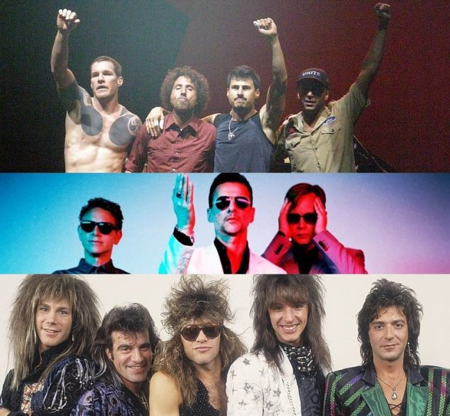 Nominalizati Rock and Roll Hall of Fame 2018 Depeche Mode Rage Against the Machine Bon Jovi