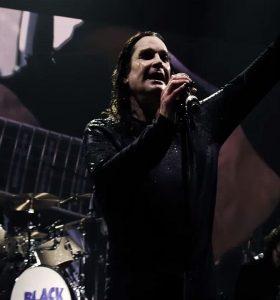 Ozzy Osbourne scena film The End 2017