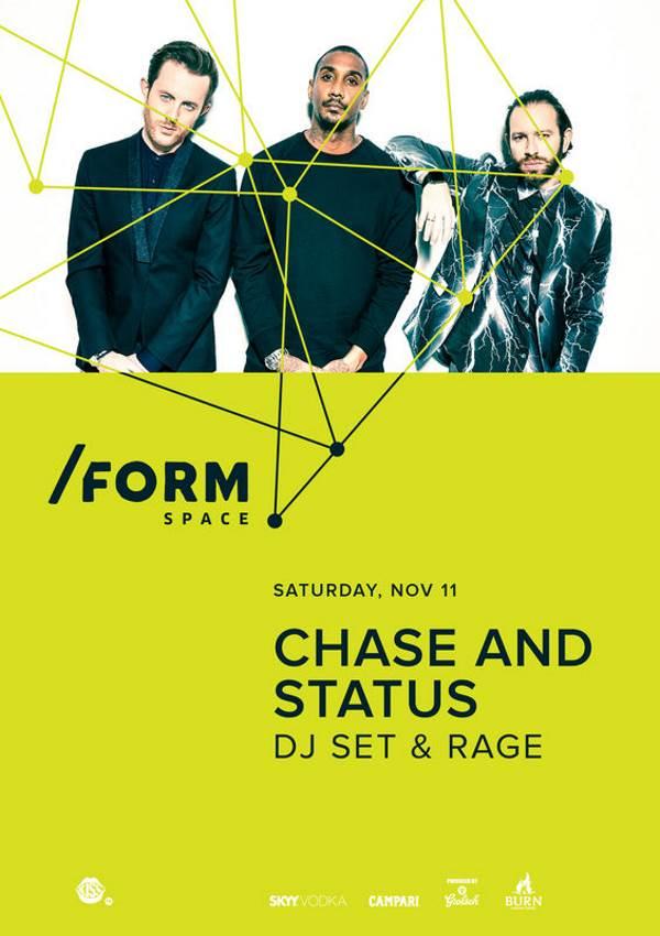 Chase & Status la Form Space Club